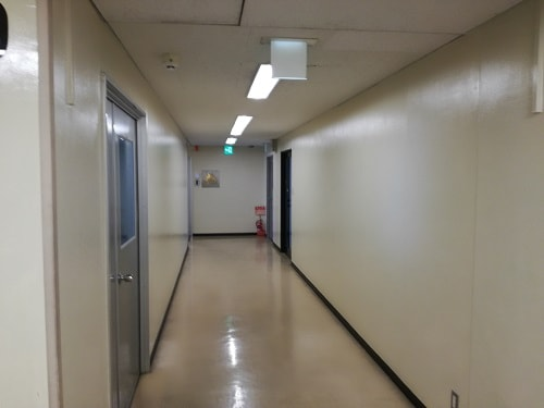 ライフプラザ西大路四条・9F廊下|スタディルームレオ西院店
