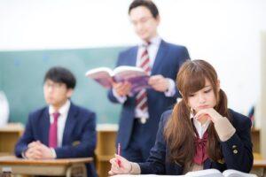 西院の自習室で勉強する